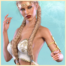 Z Elven Dreams - Poses and Partials for the Genesis 8 Females image 6