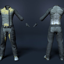 Soul Shards - Texture add on for Sci-Fi Settler for Genesis 8 Male image 1
