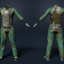 Soul Shards - Texture add on for Sci-Fi Settler for Genesis 8 Male image 2