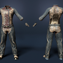 Soul Shards - Texture add on for Sci-Fi Settler for Genesis 8 Male image 3
