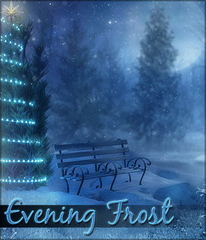 Evening Frost Backgrounds 2D Graphics Sveva