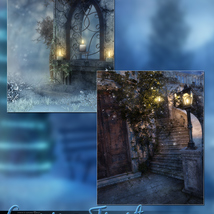 Evening Frost Backgrounds image 1