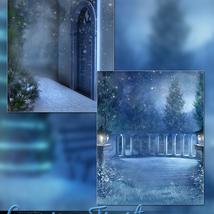 Evening Frost Backgrounds image 3