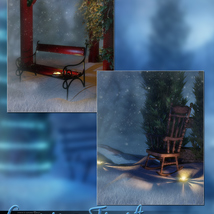Evening Frost Backgrounds image 5