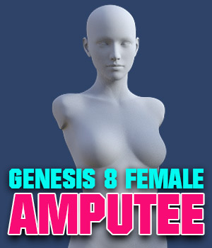 G8F Amputee 3D Figure Assets powerage
