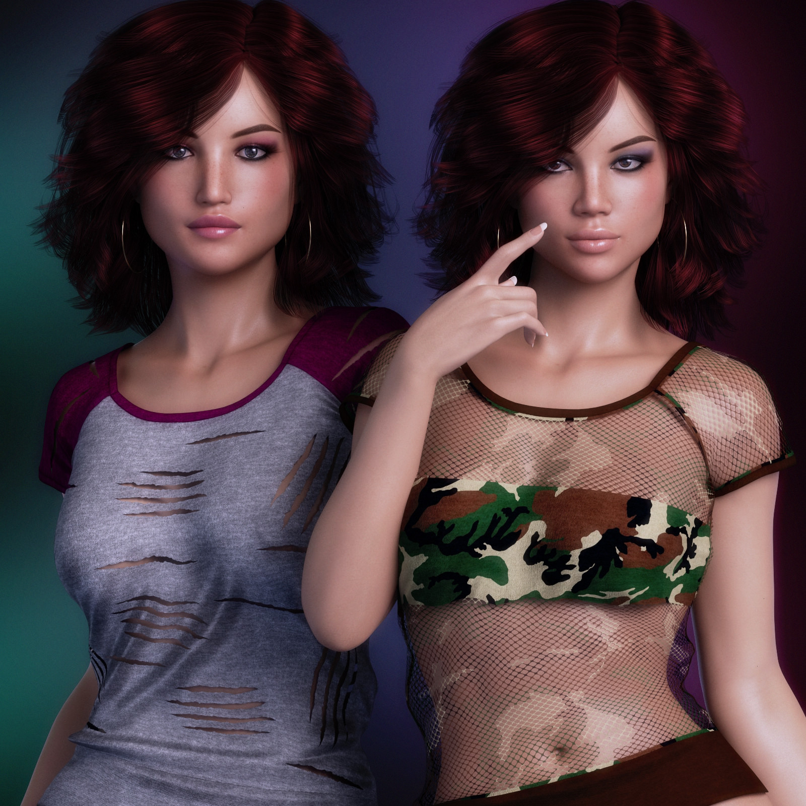Exquisite for T Shirt for Genesis 8 Females