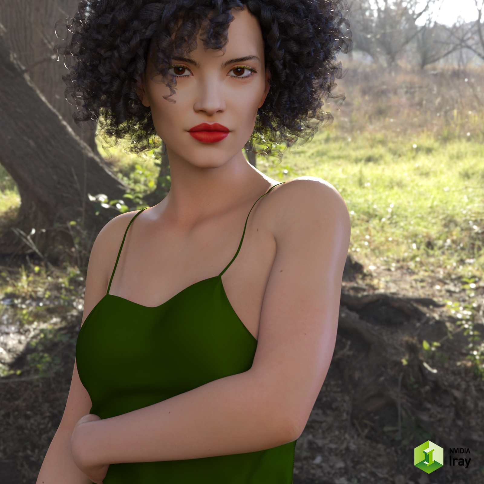 CW Samine for Genesis 8 Female