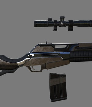 Modern weapon Pack 3D Models Digital_3D_Studio