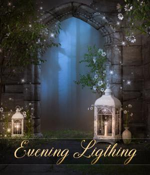 Evening Ligthing Backgrounds 2D Graphics Makena