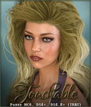 Touchable Charli 3D Figure Assets -Wolfie-