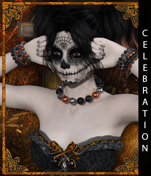 Celebration for Raine Jewelry 3D Figure Assets sandra_bonello