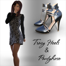 Tracy Heels and Pantyhose G8F image 2
