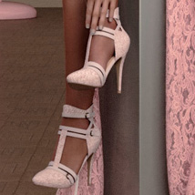 Tracy Heels and Pantyhose G8F image 9