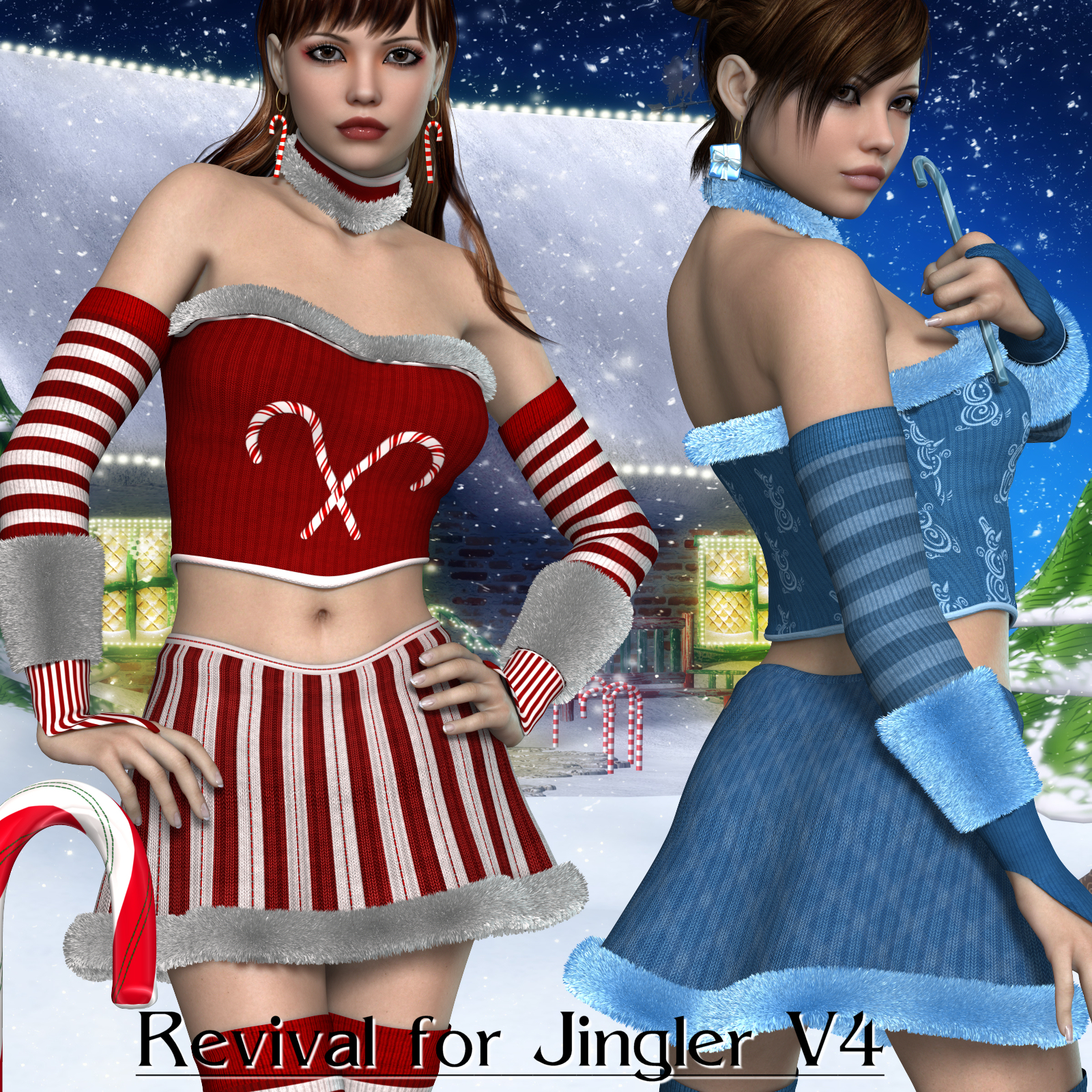 Revival for Jingler V4_Poser
