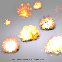 3D Explosions image 1