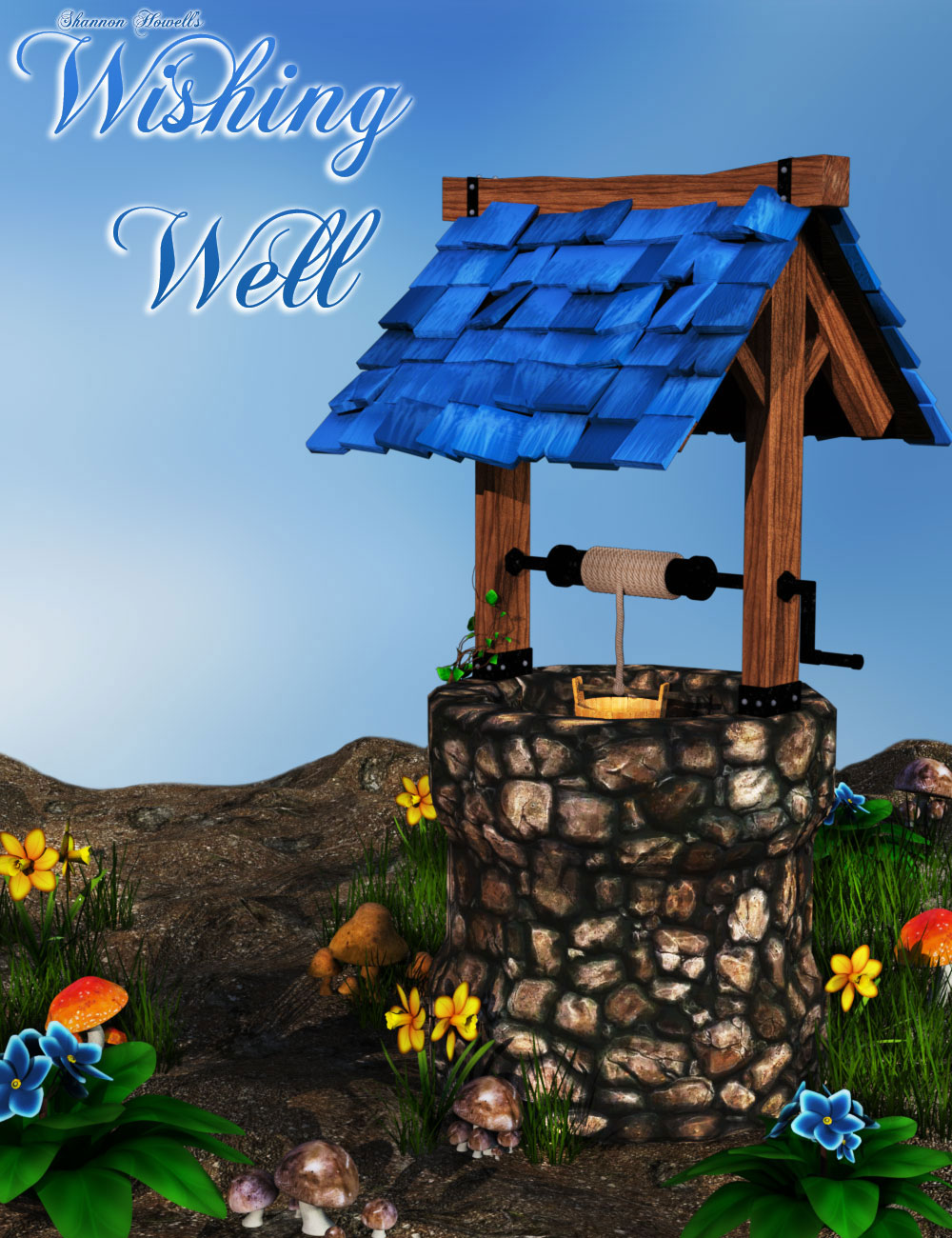 Wishing Well for Daz Studio