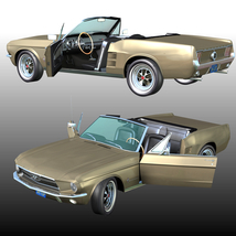 FORD MUSTANG 1967 for POSER image 1