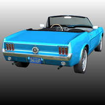 FORD MUSTANG 1967 for POSER image 4