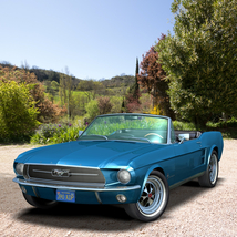 FORD MUSTANG 1967 for POSER image 6
