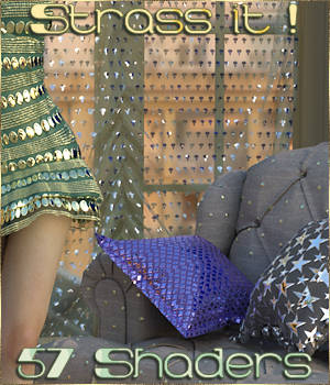 Strass it ! IRAY Shaders for DAZ 3D Figure Assets Cyriona