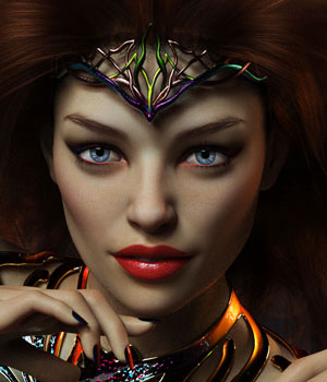 Inge for Genesis 8 3D Figure Assets mousso