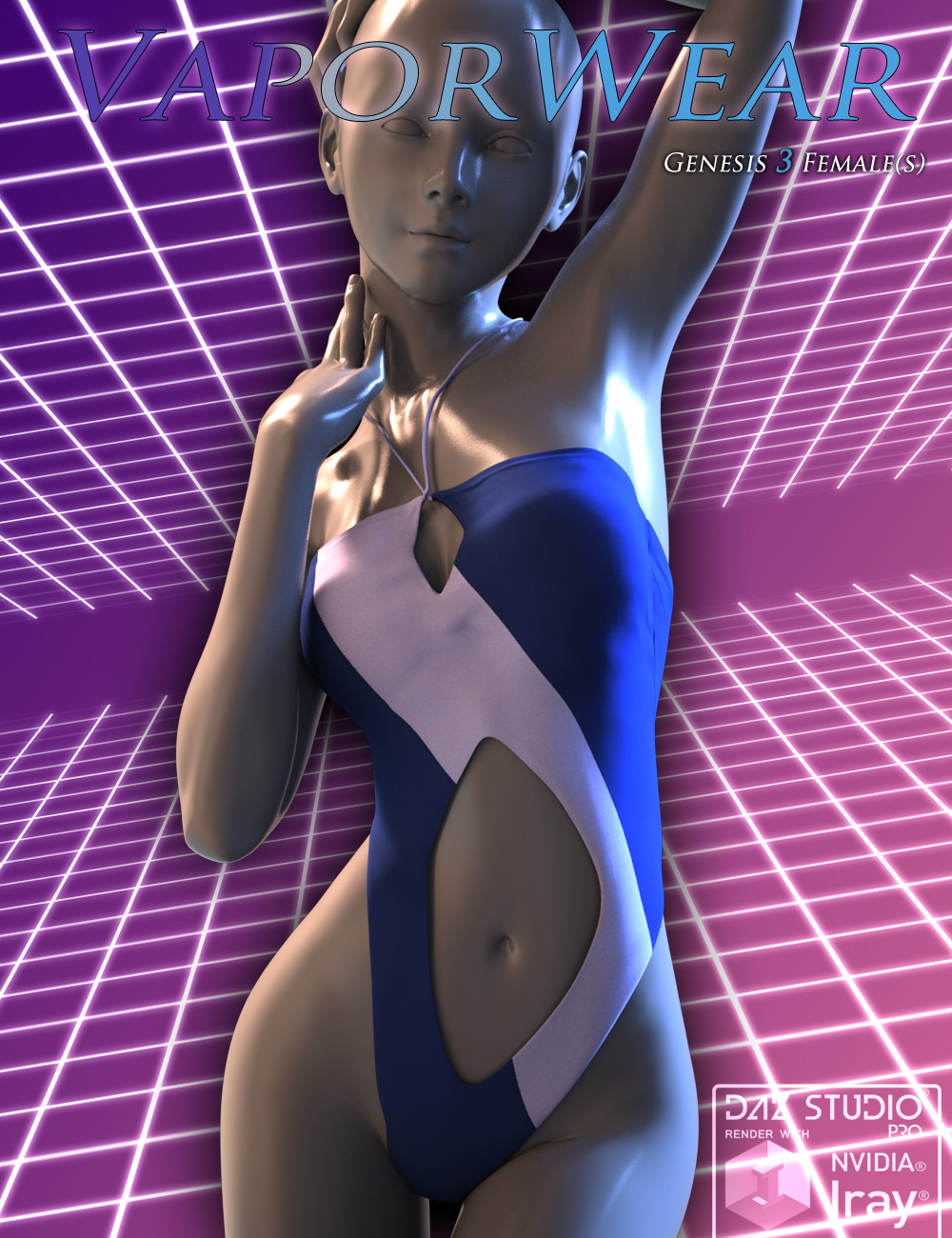 VaporWear for Genesis 3 Females