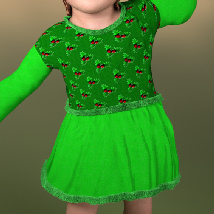 Lil Santa Dress for Sixus1 The Baby G8F image 3