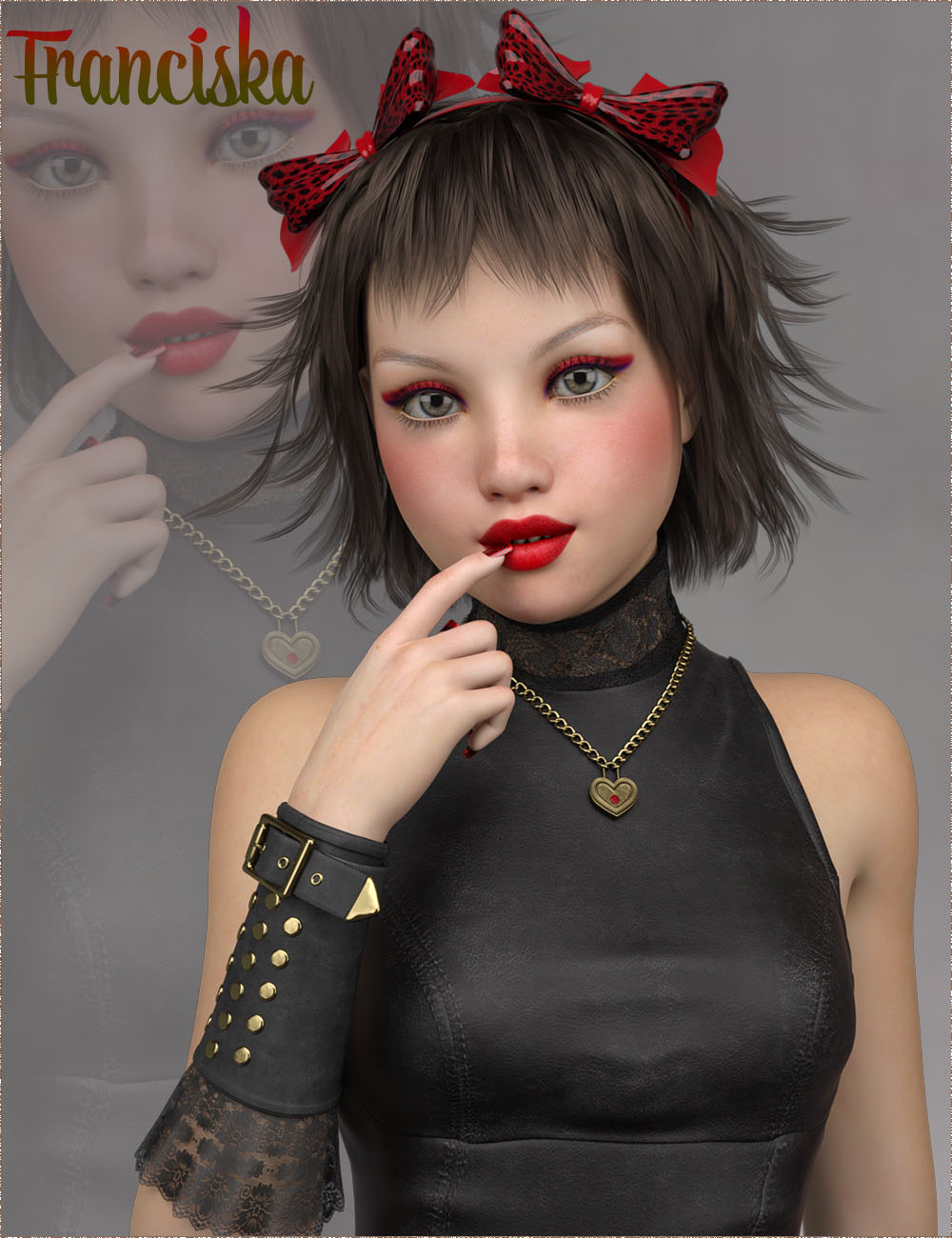 TDT-Franciska for Genesis 3 Female