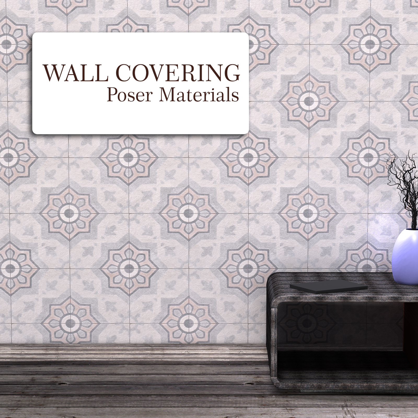 Wall Covering :: Poser Materials