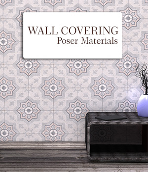 Wall Covering :: Poser Materials 2D Graphics Merchant Resources Cyrax3D