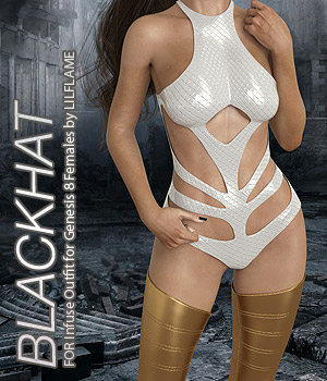 BLACKHAT - Infuse Outfit for Genesis 8 Females 3D Figure Assets Anagord