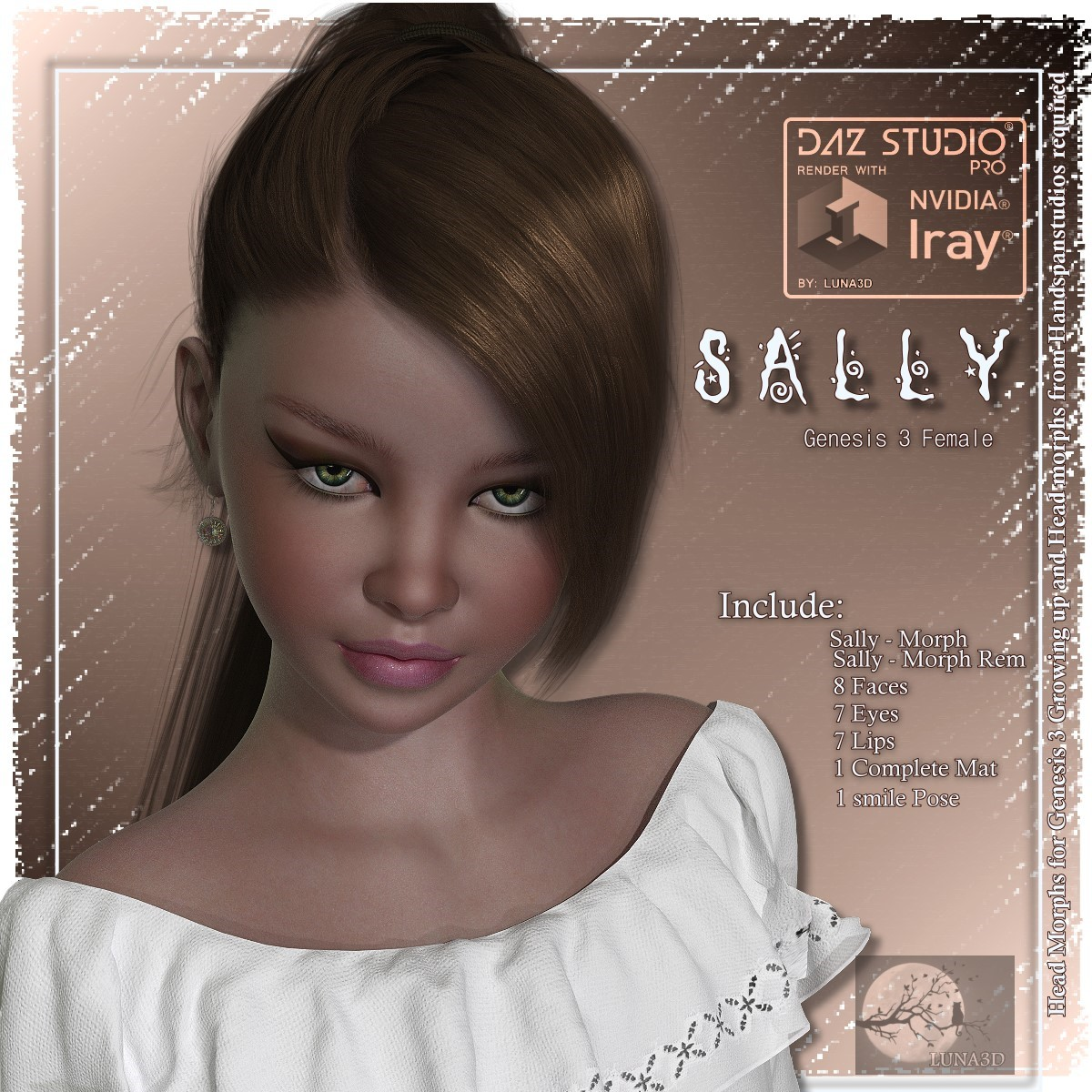 Sally- G3F DS Iray