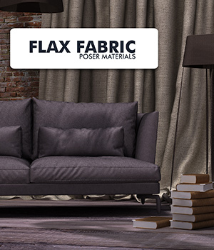 Flax Fabric  :: Poser Materials 2D Graphics Merchant Resources Cyrax3D