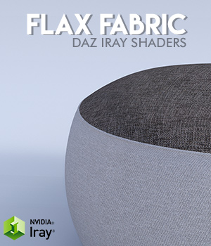 Flax Fabric :: Daz IRAY Shaders 2D Graphics Merchant Resources Cyrax3D