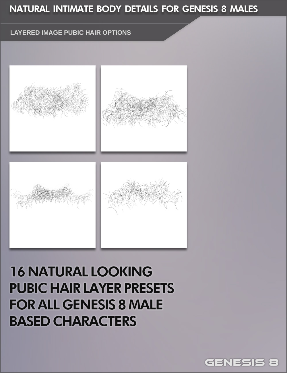 Natural Intimate Body Details for Genesis 8 Males