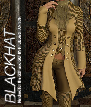 BLACKHAT - Kindred for the Genesis 3 and Genesis 8 Females 3D Figure Assets Anagord