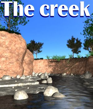 The creek Poser 3D Models JeffersonAF