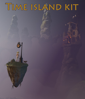 Time island kit 3D Models 1971s