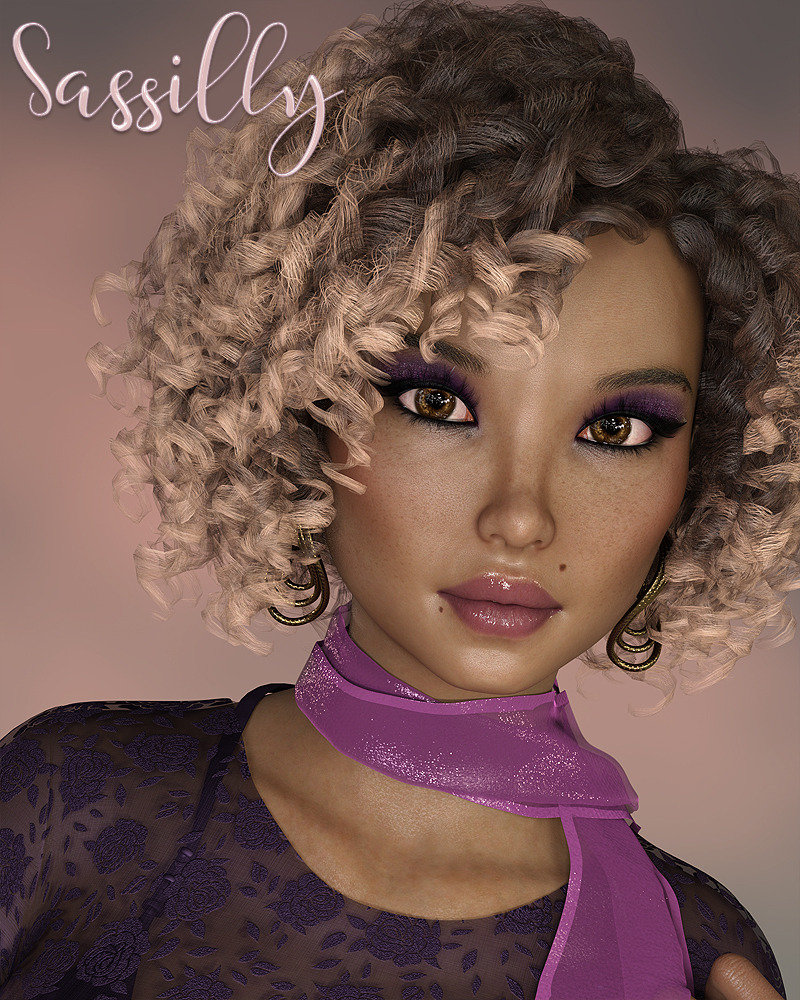 Sassilly for Genesis 8 Female