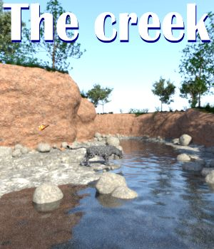 The creek DAZ 3D Models JeffersonAF