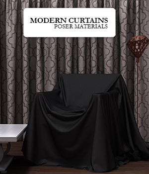 Modern_Curtains :: Poser Materials 2D Graphics Merchant Resources Cyrax3D