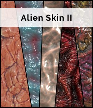 STG Alien Skin II 2D Graphics Merchant Resources Stargazy