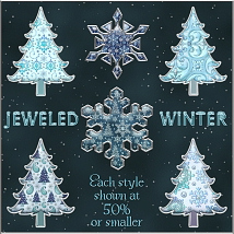 Jeweled Winter PS Layer Styles image 2