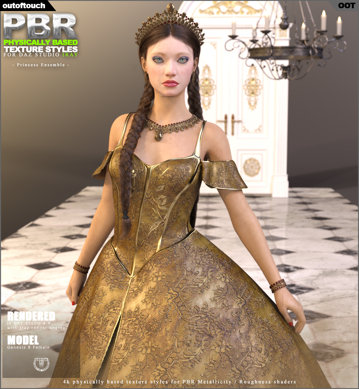 OOT PBR Texture Styles for Princess Ensemble
