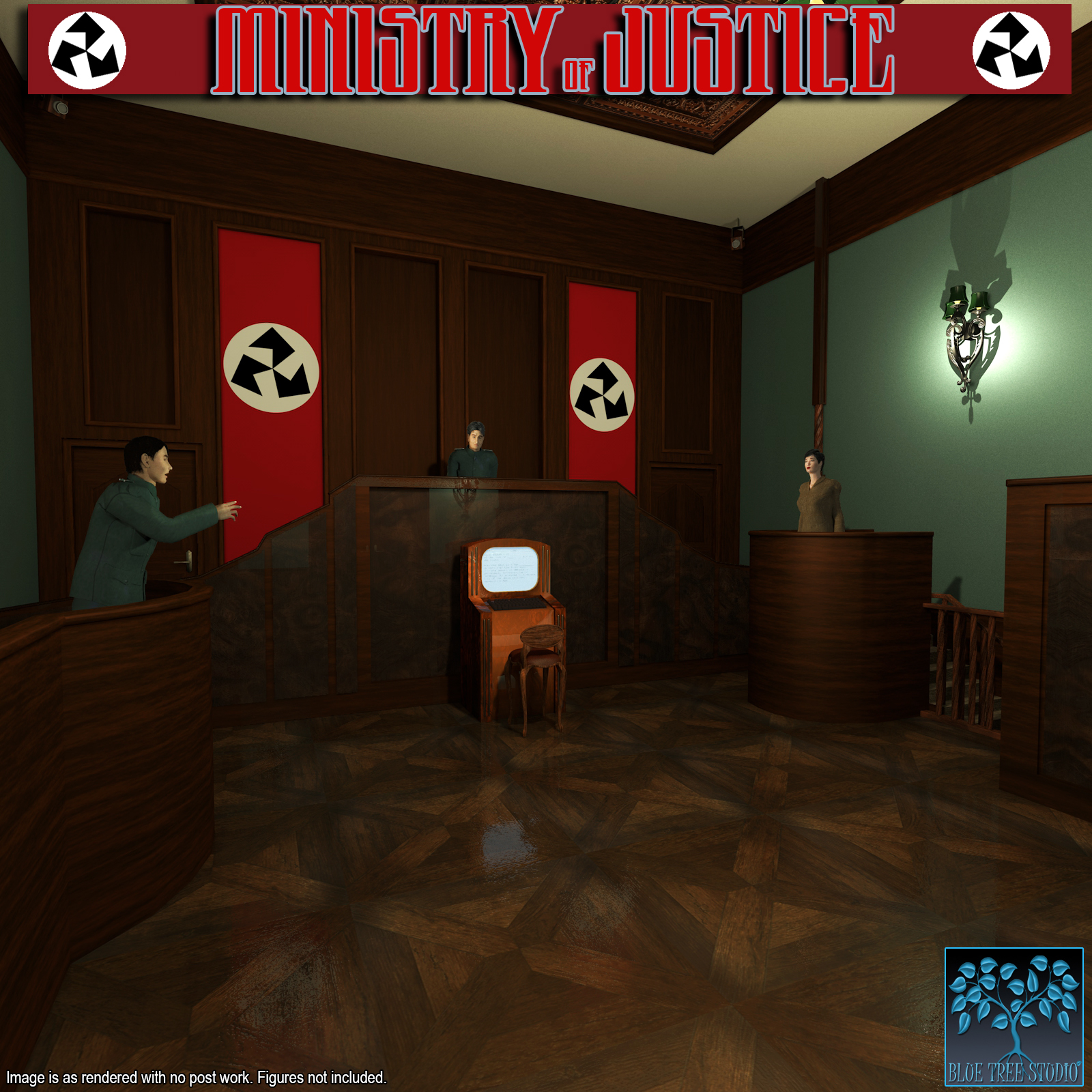 Ministry of Justice for Poser by BlueTreeStudio