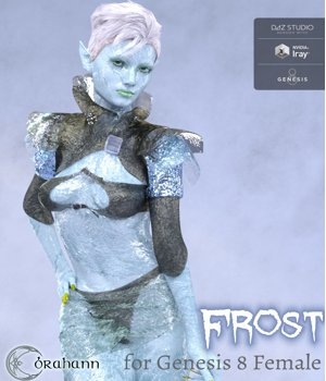 Frost for Genesis 8 Female 3D Figure Assets brahann