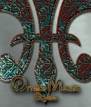 Ornate Metallic Styles 2D Graphics antje