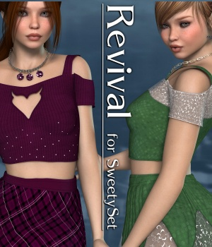 Revival for Sweety Set V4_Poser by JudibugDesigns