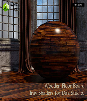 15 Floor Board Iray Shaders - Merchant Resource 3D Figure Assets Merchant Resources nelmi