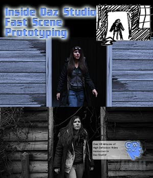 Inside Daz Studio - Fast Scene Prototyping Tutorials : Learn 3D Disciple3d